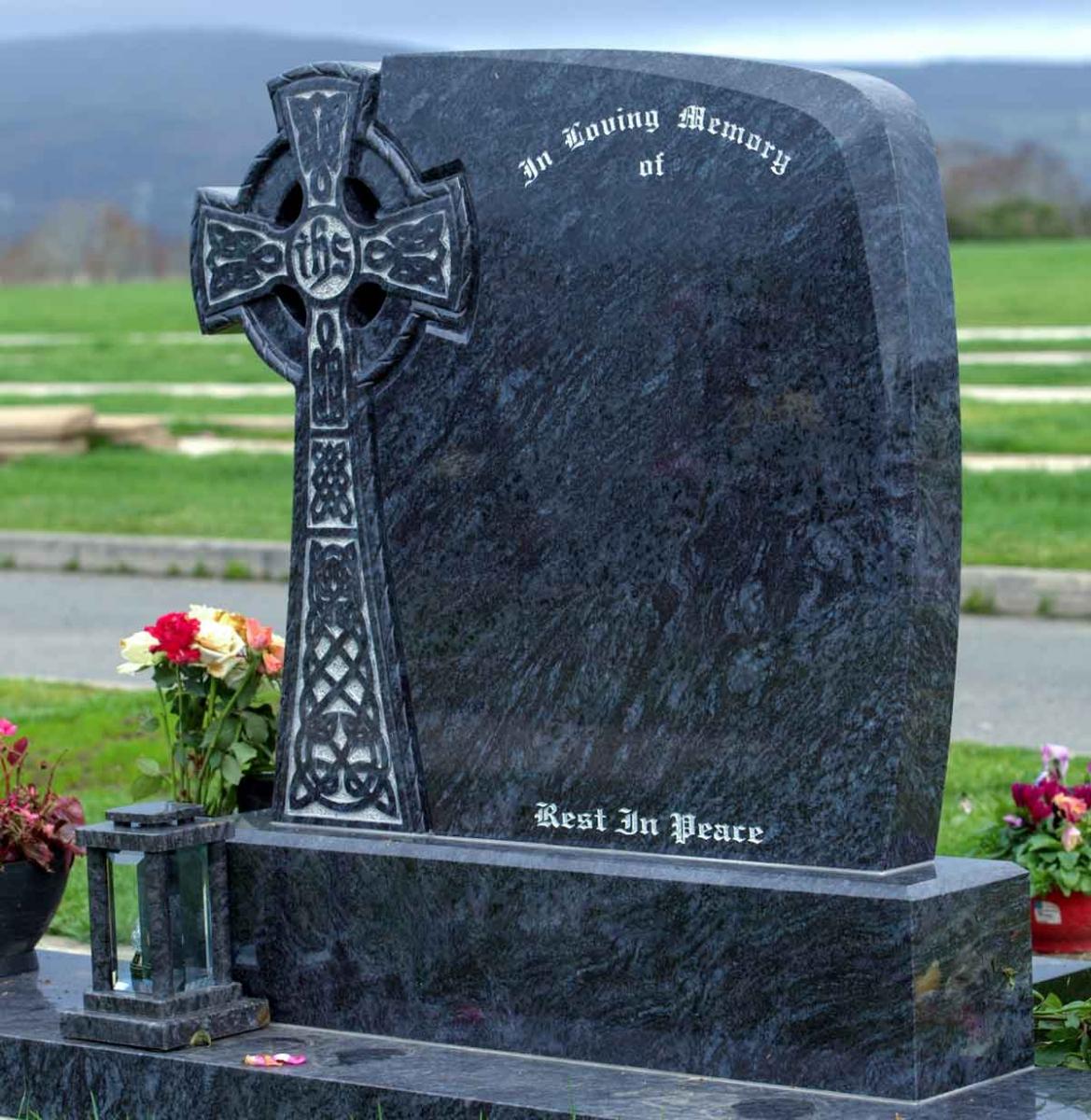 Celtic-Cross-Granite-Headstone
