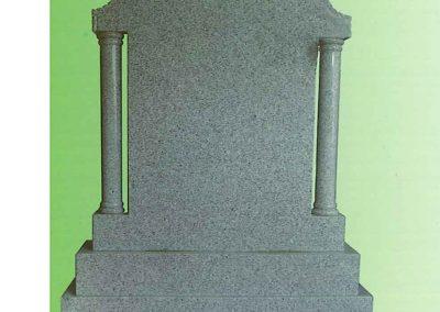 Marble-Pillar-Headstone-Navan-Memorials