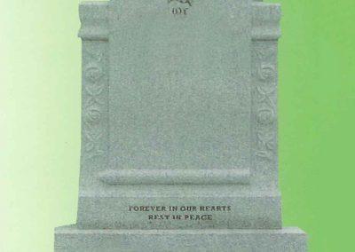 Marble-Scroll-Headstone-Navan-Memorials
