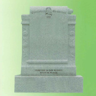 Marble-Scroll-Headstone-Navan-Memorials