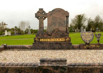 Brown Granite Cross